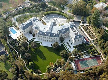 Aaron Spelling\'s Los Angeles Mega Mansion   Homes of the Rich