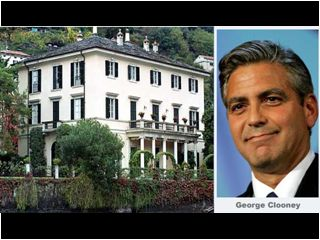 george clooneys house in como