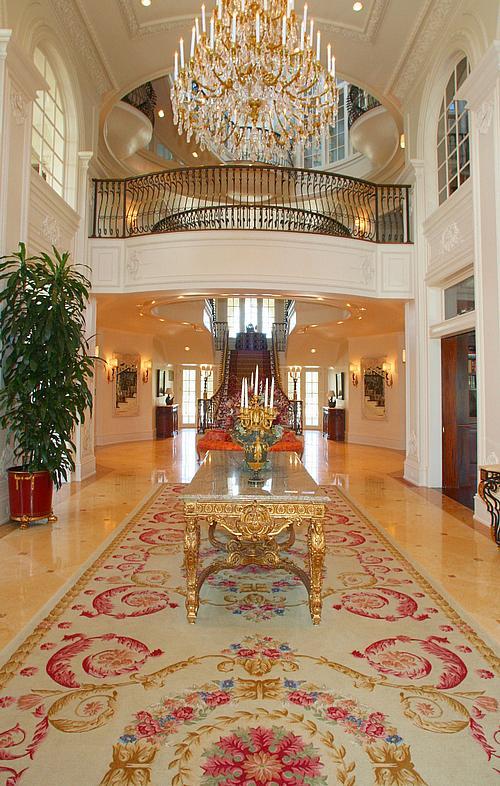 Mansion Foyer Uk : Dallas mega mansion s asking price increased celebrity