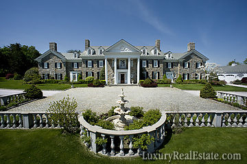 Connecticut Mansion In The Desirable Round Hill Section