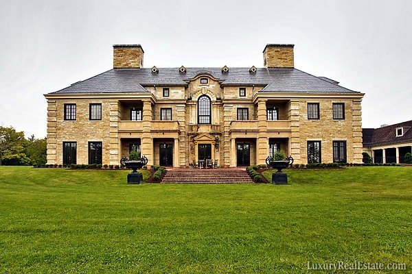Ivan lendl s connecticut mansion homes of the rich for Connecticut home builders