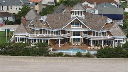 New jersey oceanfront mansion celebrity houses and for Jersey shore waterfront homes for sale