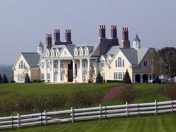 Mendham nj mega mansion homes of the rich for Nj house builders