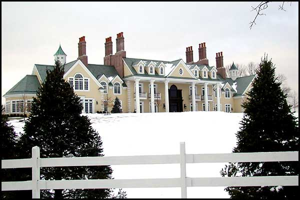 Mendham NJ Mega Mansion