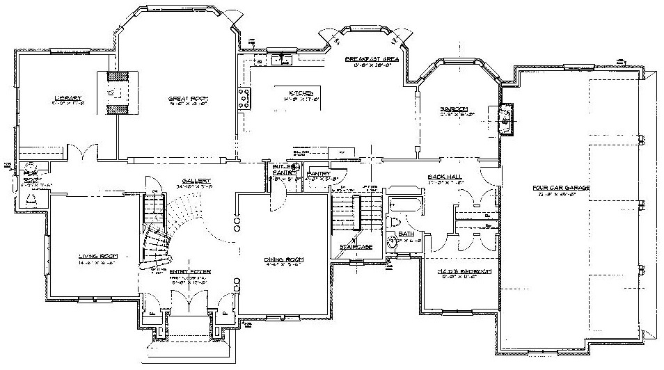 Floorplans homes of the rich page 2 for New home floorplans
