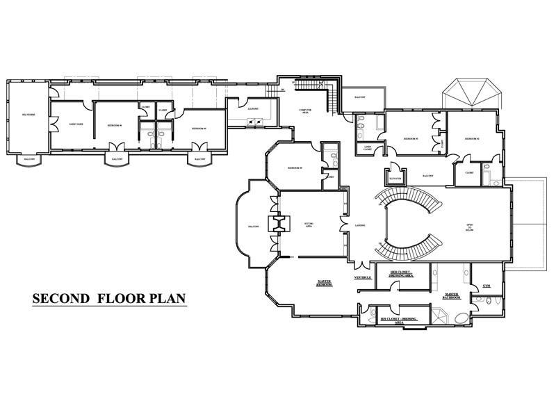 Georgian style mega mansion homes of the rich for Georgian mansion floor plans