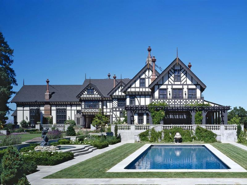 Los Altos Hills Restored Mega Mansion Homes Of The Rich
