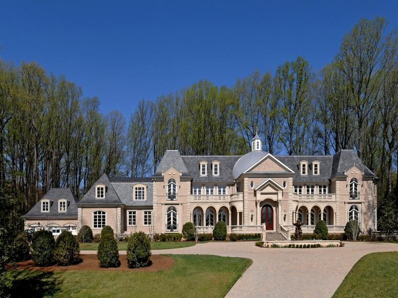 Virginia Baroque Chateau Mega Mansion Homes of the Rich