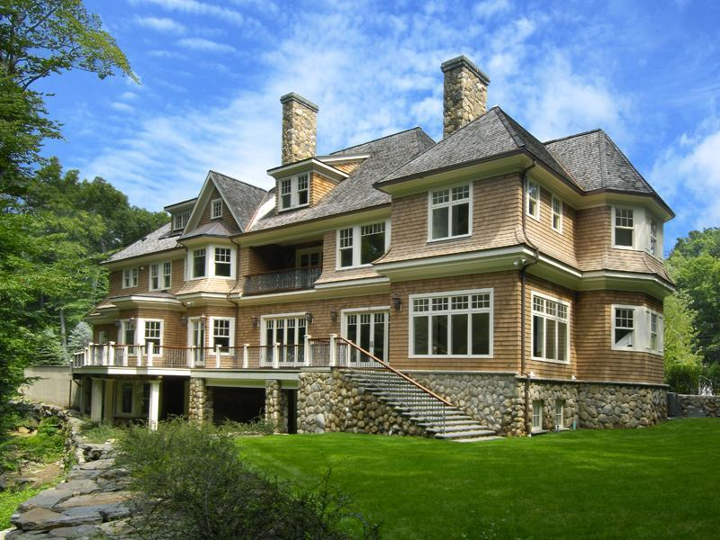 Superb greenwich mansion homes of the rich for Connecticut home builders