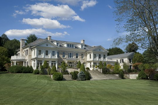 Newly constructed Georgian mansion in Round Hill | Homes ...