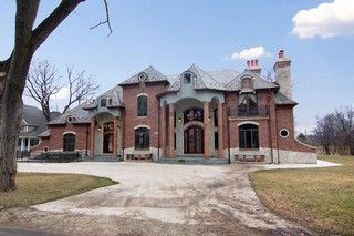Two Brand New Illinois Mansions Homes Of The Rich