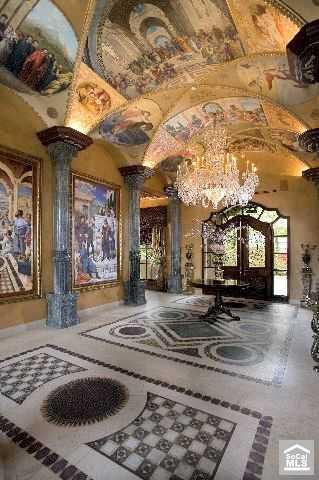 Italian Renaissance Villa In California