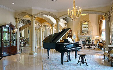 Villa Valahia Boca Ratons Mega Mansion likewise Special Dream Homes Of Quebec Halls Entries together with Double circular stairs likewise 0x 0y Castle Room Foyer together with Foyer Light Fixture. on luxury house plans with double staircase