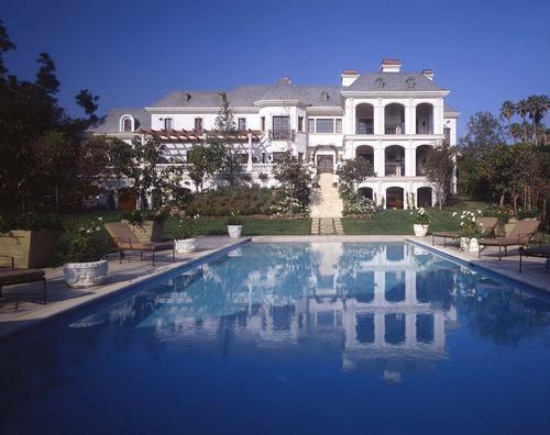 Mohamed Hadid's Holmby Hills French Manor | Homes of the Rich