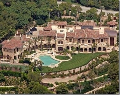 Eddie murphy 39 s 40 000 square foot beverly hills mansion for La star homes tour
