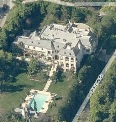 Mohamed Hadid S Holmby Hills French Manor Homes Of The Rich
