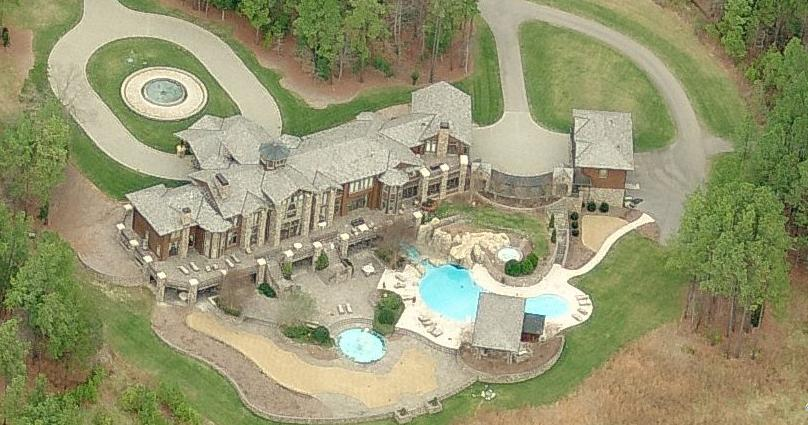 A Look At Raleigh Mega Mansions Homes Of The Rich