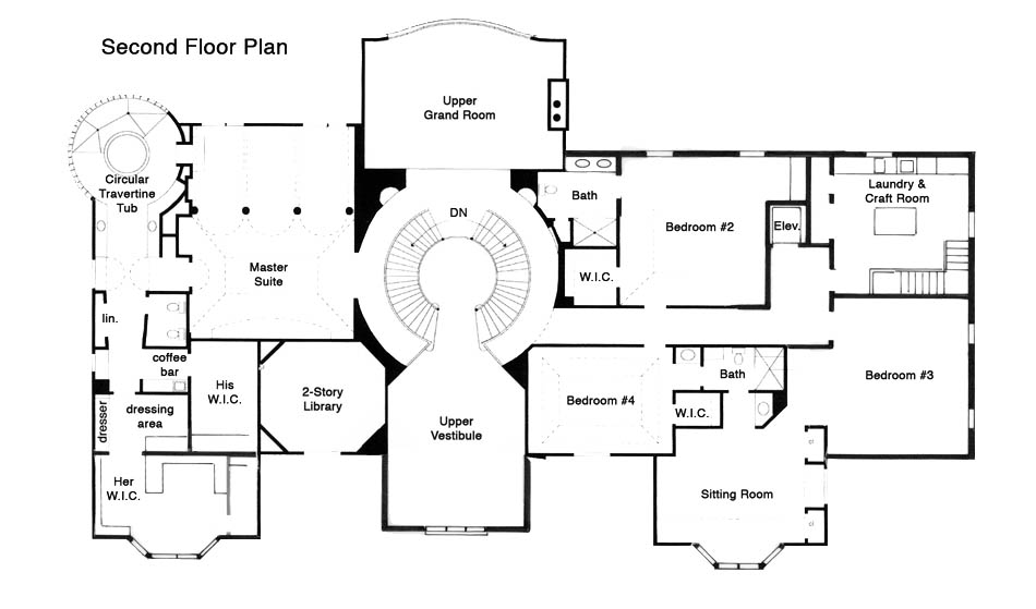 ashford3 - 32+ House Plans Two Story Library  Background