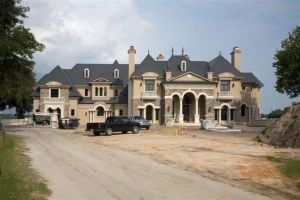Exquisite French Castle Under Construction