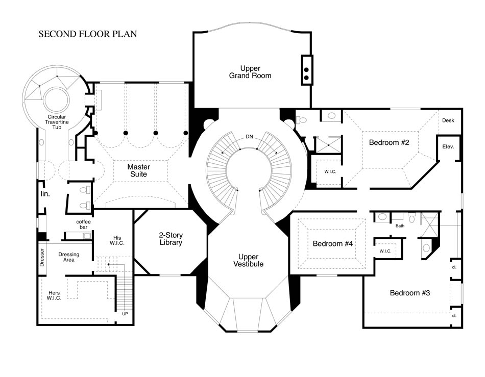 Floorplans homes of the rich page 2 for Rich house plans